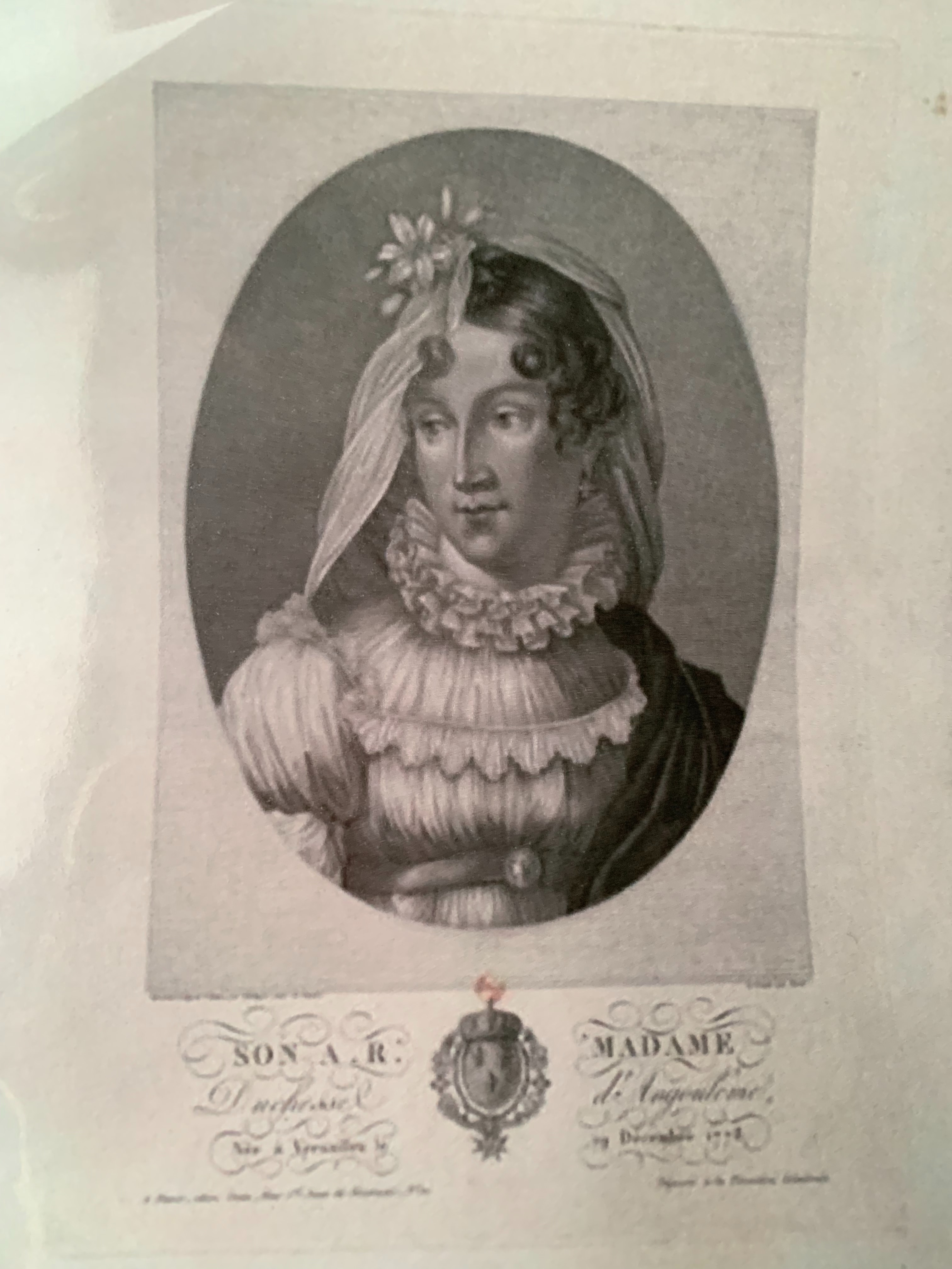 Madame d'Angeuleme